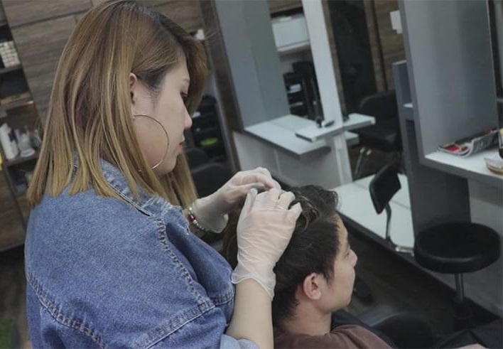 having a good hair care routine
